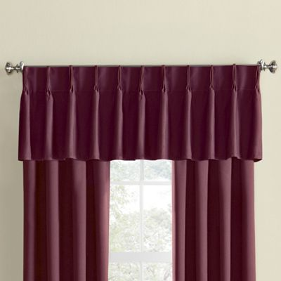 Thermal Pinch Pleat Valance From Seventh Avenue D2704004