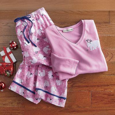 Polar Bear Pajama Set