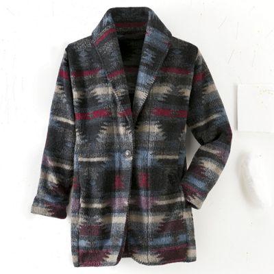 Blanket Fabric Blazer