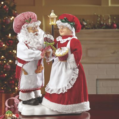 Animated Santa And Mrs Claus From Seventh Avenue Dl704397