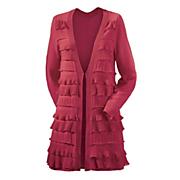 tiered ruffle cardigan 29