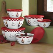 12 piece bon appetit bowl set