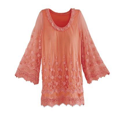 Clarice Crochet Tunic