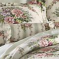 Cottage Rose Neckroll