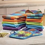 18-Piece Gemstone Kitchen Towel Set