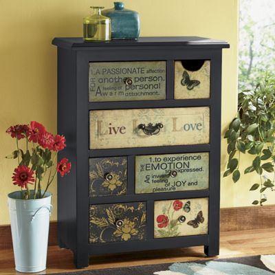 Live Laugh Love Cabinet From Seventh Avenue Dw705206