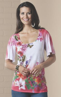 Isabella Butterfly Top