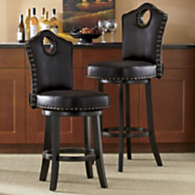 nailhead swivel stool