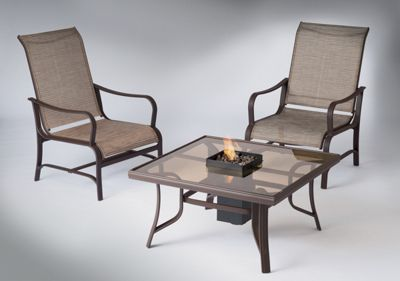 Fire Pit Table and Chairs