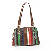 animal stripes handbag by marc chantal