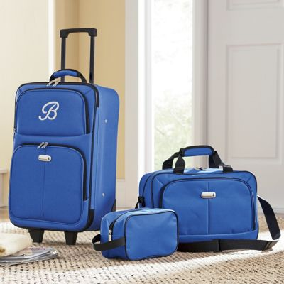 3-Piece Personalized Luggage Set from Seventh Avenue | DW706136