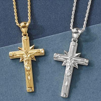 Large Crucifix Pendant