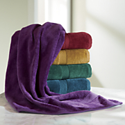 6-Piece Jeweltone Velour Towel Set