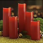 5 piece flameless candle set