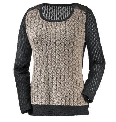 Meryl Mixed Knit Sweater