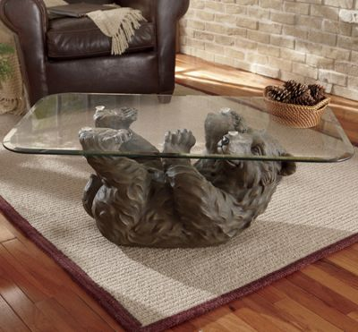 Brown Bear Coffee Table From Seventh Avenue Dw706798