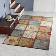 Artifact Panel Rug by Mohawk & Cottage Garden Rug from Country Door | NI39775 Pezcame.Com
