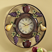 Fruit Clock