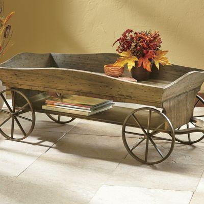Charmant Wagon Coffee Table