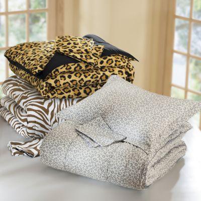 3-Piece Reversible Comforter Set