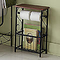 Scroll Bathroom Tissue/Magazine Holder