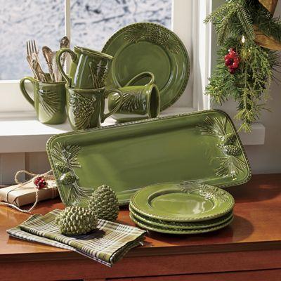 Paula Deen Southern Pine Serveware & Paula Deen Southern Pine Serveware from Country Door