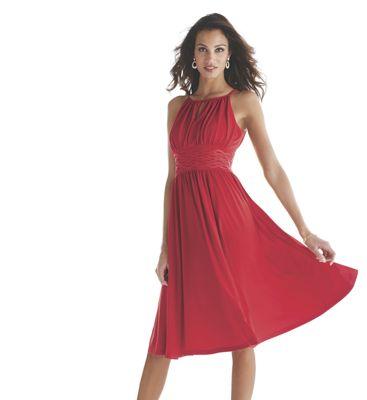 Felixia Keyhole Neckline Dress