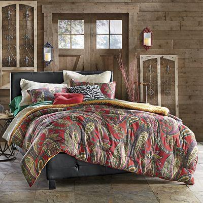 Tiburon Comforter, Sham and Decorative Pillows