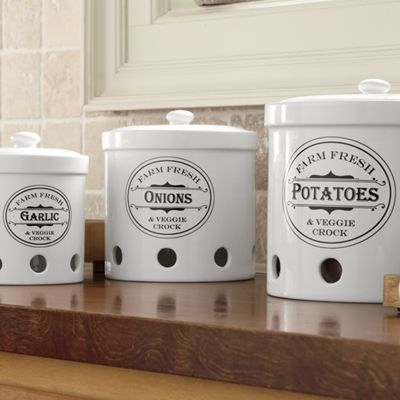 Set Of 3 Vented Storage Canisters From Ginny S Jw710367