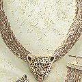 3-D Leopard Necklace