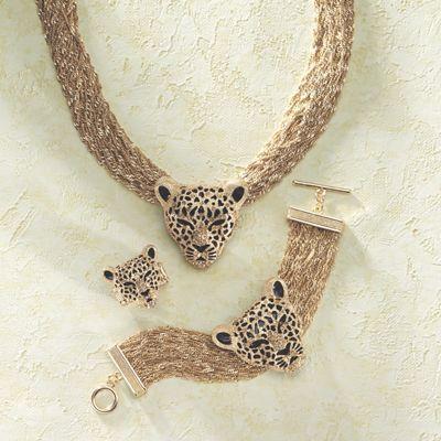 3-D Leopard Jewelry