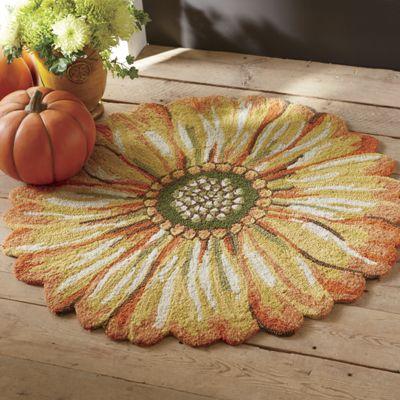 Indoor/Outdoor Sunflower Mat