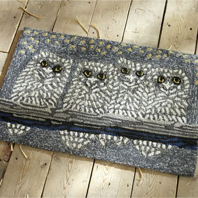Night Owls Indoor/Outdoor Mat