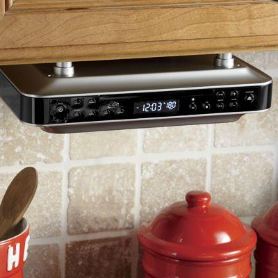 iLive Bluetooth Under-Cabinet Music System
