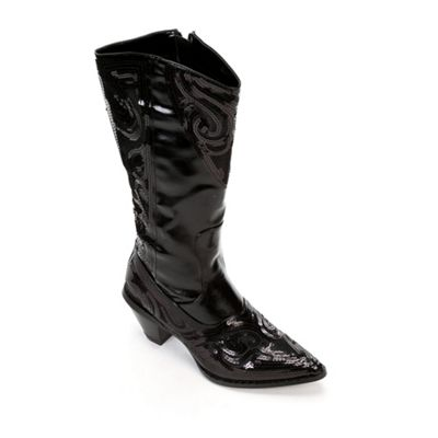 Sequin Cowgirl Boot by Midnight Velvet