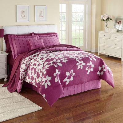 4-Piece Comforter Set, Pillow & Window Treatments
