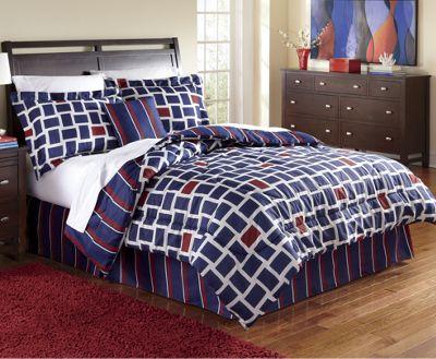 4-Piece Comforter Set & Window Treatments