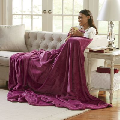 Lush Plush Microfiber Blanket