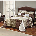 Patchwork Chenille Bedspread