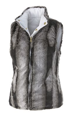 Reversible Diamond-Quilted Vest