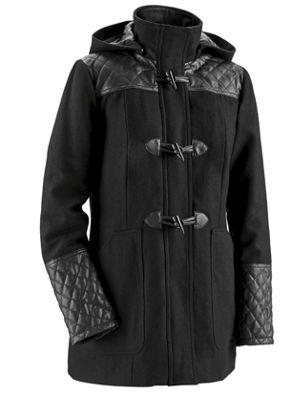 Imogen Wool-Blend Toggle Coat