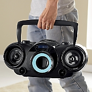 mp3 cd boom box with bluetooth by naxa
