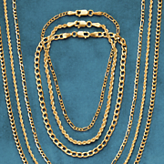 gold rope bracelets