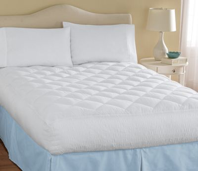 Reliance Smocked Mattress Pad and Pillow Pair