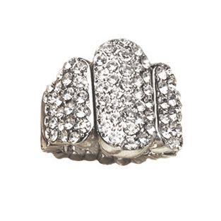 Crystal Bar Stretch Ring