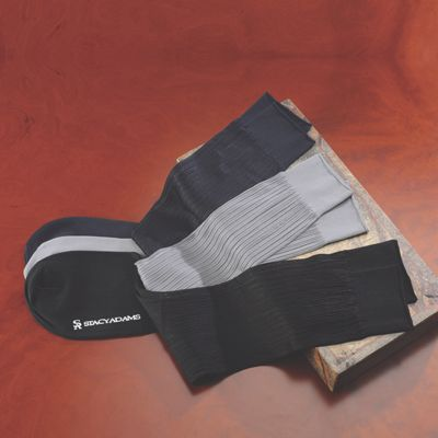 3-Pair Sock Set by Stacy Adams