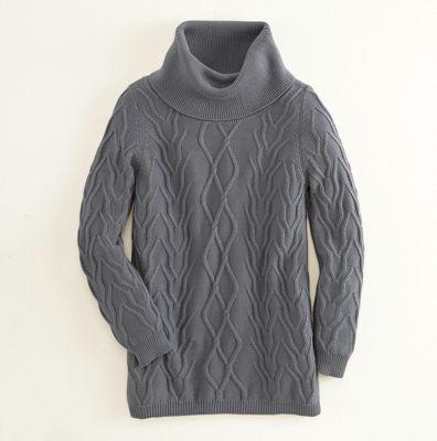 Daniella Cowl-Neck Tunic Sweater