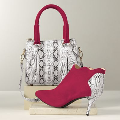 Amaryllis Bag and Ankle Boot