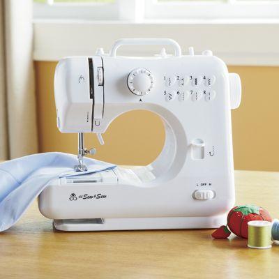 Compact Desktop Sewing Machine & Sewing Kit