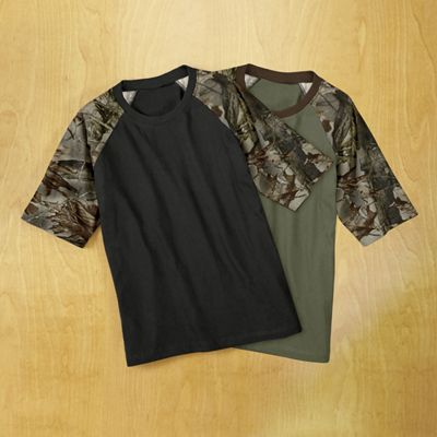 Camo Sleeve Tee By Trailcrest From Country Door 715480
